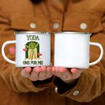 Custom Mug Star Wars Yoda One For Me Cute Valentine's Graphic -  Campfire Mug