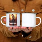 Custom Mug Star Wars The Mandalorian Cara Dune Poster - Campfire Mug