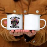 Custom Mug Neil DeGrasse Tyson Y'all Need Vaccine Vaccination Science - Campfire Mug