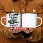 Custom Mug Fa Bond That Can't Be Broken -Best Gift For Grandma - Campfire Mug