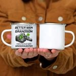 Custom Mug Better Man - Perfect Gift For Grandpa - Campfire Mug