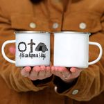 Custom Mug A Lot Can Happen In 3 Days Gift - Campfire Mug