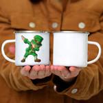 Custom Mug St Patricks Day Dabbing Leprechaun Boys Kids Men Gifts Dab -  Campfire Mug