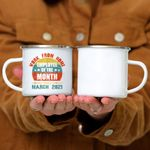 Custom Mug Work From Home Employee Of The Month Since March 2020 Funny -  Campfire Mug