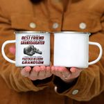 Custom Mug A Best Friend - Perfect Gift For Grandma -  Campfire Mug