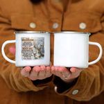 Custom Mug You Will Never Lose - Grandpa To Grandson -  Campfire Mug