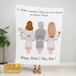 Custom Gift Personalized A Forever Friend Gift For Mother Day