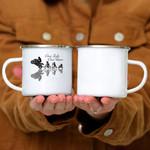 Custom Mug One Life One Love - Bikers Speed Gift - Campfire Mug