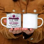 Custom Mug Being A Grandma Is An Honor Being A Great-Grandma Is Priceless - Campfire Mug