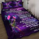Custom Bedding To My Daughter Butterfly Bedding Set