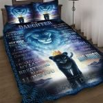 Custom Bedding To My Daughter Gift From Dad Lion Bedding Set