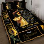 Custom Bedding To My Mom Sunflower Bedding Set - Gift For Mom