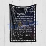 Custom Blanket Personalized Night Sky To My Mom - Mother's Day Gift