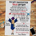 Personalized Gifts For Daughter Custom Jigsaw Puzzle To My Daughter Graduation
