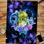 Custom Jigsaw Puzzle I Love Frogs