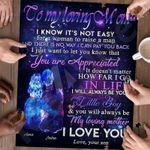 Personalized Gifts For Mom Custom Jigsaw Puzzle To My Loving Mom From Son - Mothers Day Gift