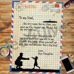 Custom Jigsaw Puzzle Letter Daughter To My Dad - Gift For Dad