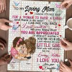Personalized Gift For Mom Custom Jigsaw Puzzle To My Loving Mom - Mothers Day Gift