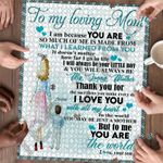 Personalized Gift For Mom Custom Jigsaw Puzzle To My Loving Mom From Son 3 - Mothers Day Gift