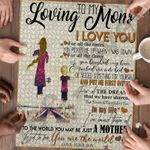 Personalized Gift For Mom Custom Jigsaw Puzzle To My Loving Mom From Son 5 - Mothers Day Gift