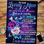 Custom Jigsaw Puzzle To Our Loving Mom - Mothers Day Gift