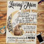 Custom Jigsaw Puzzle Bear To My Loving Mom - Mothers Day Gift