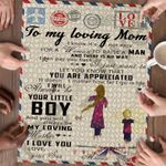 Personalized Gifts For Mom Custom Jigsaw Puzzle Letter To My Mom - Mothers Day Gift