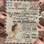Personalized Mother's Day Gifts Custom Letter From Daughter To My Mom Jigsaw Puzzle