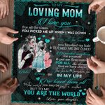 Personalized Mother's Day Gifts Custom Jigsaw Puzzle To My Loving Mom Jigsaw Puzzle