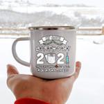 Custom Mug My Birthday 60th Quarantine - Campfire Mug