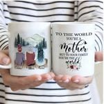 Personalized Mother's Day Gift Custom Name From Daughter To The World Mom