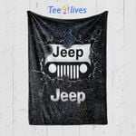 Custom Blankets Jeep Blanket - Fleece Blanket