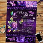 Personalized Mother's Day Gift Custom Jigsaw Puzzle From Daughter To My Mom Butterfly