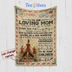 Personalized Mother's Day Gift Custom Blanket Letter From Daughters To Our Loving Mom - Quilt Blanket