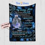 Personalized Mother's Day Gift Custom Blanket Queen From Daughter To My Loving Mom