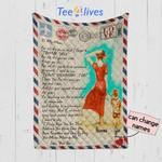 Personalized Mother's Day Gift Custom Blanket Letter From Son To My Mom - Quilt Blanket