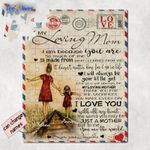 Personalized Mother's Day Gifts Custom Letter From Daughter To My Loving Mom Jigsaw Puzzle