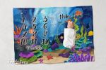 Personalized Baby Blanket Newborn Photo Floral Custom Baby Blanket 138
