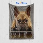 Custom Blanket French Bulldog Blanket - Perfect Gift For Mom - Quilt Blanket