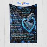 Custom Blanket To My Mom Dolphin Blanket - Mother's Day Gift - Quilt Blanket