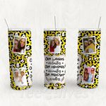 Personalized Photo Tumbler - Photo Collage Tumbler - Custom Travel Mug - Gift For Best Friend 16 | Birthday Gifts