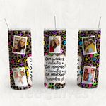 Personalized Photo Tumbler - Photo Collage Tumbler - Custom Travel Mug - Gift For Best Friend 19 | Birthday Gifts