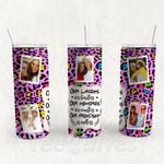Personalized Photo Tumbler - Photo Collage Tumbler - Custom Travel Mug - Gift For Best Friend 20 | Birthday Gifts