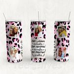 Personalized Photo Tumbler - Photo Collage Tumbler - Custom Travel Mug - Gift For Best Friend 21 | Birthday Gifts