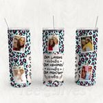 Personalized Photo Tumbler - Photo Collage Tumbler - Custom Travel Mug - Gift For Best Friend 25 | Birthday Gifts