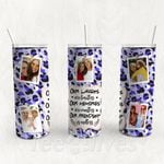 Personalized Photo Tumbler - Photo Collage Tumbler - Custom Travel Mug - Gift For Best Friend 27 | Birthday Gifts