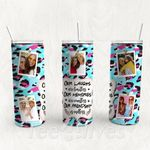 Personalized Photo Tumbler - Photo Collage Tumbler - Custom Travel Mug - Gift For Best Friend 28 | Birthday Gifts