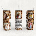 Personalized Photo Tumbler - Photo Collage Tumbler - Custom Travel Mug - Gift For Best Friend 29 | Birthday Gifts