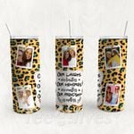 Personalized Photo Tumbler - Photo Collage Tumbler - Custom Travel Mug - Gift For Best Friend 32 | Birthday Gifts