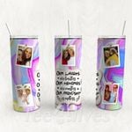 Personalized Photo Tumbler - Photo Collage Tumbler - Custom Travel Mug - Gift For Best Friend 33 | Birthday Gifts